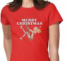Mrs Claus -  Girl Pinup Variant Womens Fitted T-Shirt