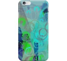 Cup stains on turquis iPhone Case/Skin