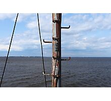 Ship mast Photographic Print