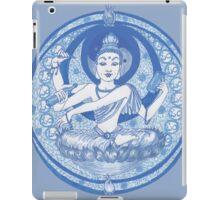 Blue Bodhisattva Brew iPad Case/Skin