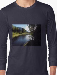 Evening River Long Sleeve T-Shirt