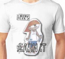 Peep Earn It - Chimp Plan: Z Unisex T-Shirt