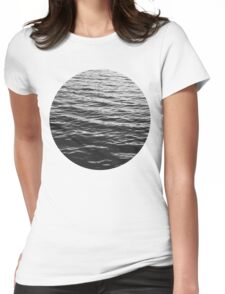 Water. Womens Fitted T-Shirt