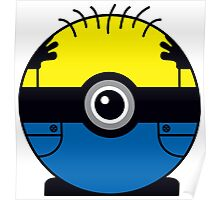 Minion Pokemon Ball Mash-up Poster