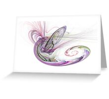 Random Fractal 3 Greeting Card