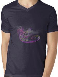 Random Fractal 3 Mens V-Neck T-Shirt