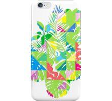Tropical geometrics iPhone Case/Skin