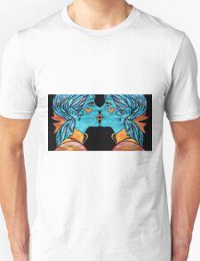 Looking Glass Kisses Unisex T-Shirt