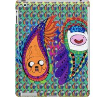 adventure time - finn & jake investigations sheet iPad Case/Skin