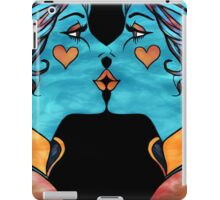 Looking Glass Kisses iPad Case/Skin