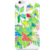 Tropical geometrics 2 iPhone Case/Skin