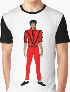 Thriller Red Jackson Graphic T-Shirt