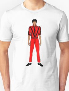 Thriller Red Jackson Unisex T-Shirt