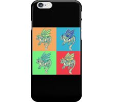 Pop Art Wolf Dragon iPhone Case/Skin