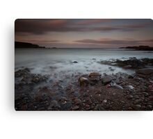 catterline bay Canvas Print