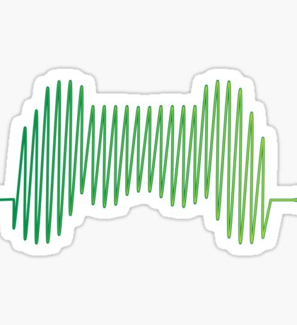 Gamer Heartbeat Sticker