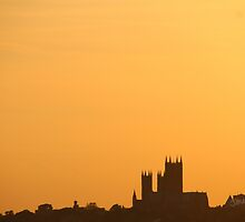 Lincoln Cathedral Sunset by Jonathan Cox