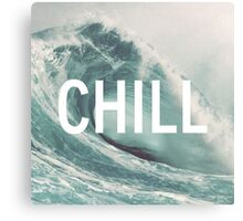 chill and huf Canvas Print