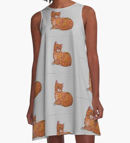 Firecat A-Line Dress
