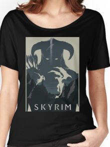 skyrim Women's Relaxed Fit T-Shirt