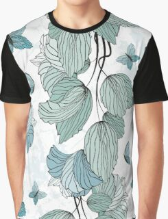 Seamless Floral Ornament Graphic T-Shirt