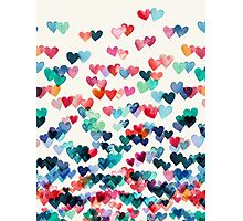 Heart Connections - Watercolor Painting Photographic Print