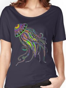 Electric Jellyfish Women's Relaxed Fit T-Shirt