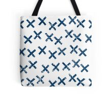 Pattern with crosses Tote Bag