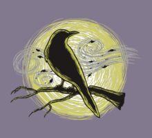 Moonlight Raven Kids Tee