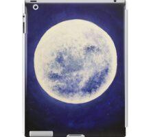 Acrylic moon iPad Case/Skin