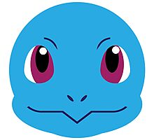 Squirtle Vector Photographic Print