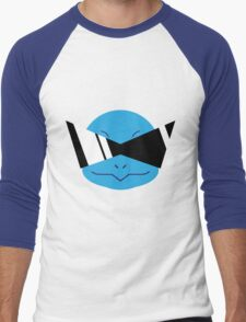Squirtle Squad Vector Men's Baseball ¾ T-Shirt