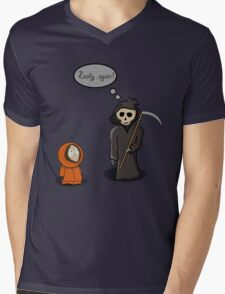 Kenny - Meet with Death Mens V-Neck T-Shirt