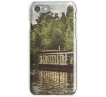 College Barge Near Iffley iPhone Case/Skin