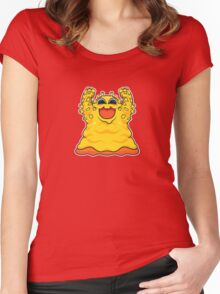 Macaroni Monster Women's Fitted Scoop T-Shirt