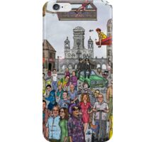 Funny TV and movie stars iPhone Case/Skin