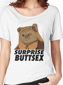 Ewok - Surprise Buttsex Women's Relaxed Fit T-Shirt