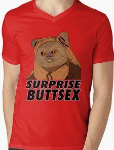 Ewok - Surprise Buttsex Mens V-Neck T-Shirt