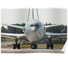 AWACS at Waddington Airshow Poster