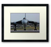 Vulcan at Waddington Airshow Framed Print