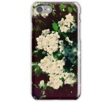Weiße Blüten iPhone Case/Skin