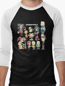 Undertale Chars Men's Baseball ¾ T-Shirt