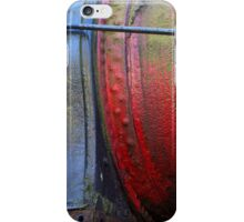 Heavy Metal Red and Blue iPhone Case/Skin