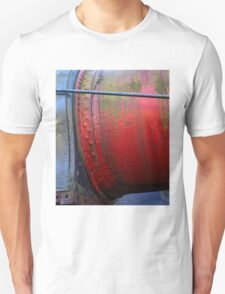 Heavy Metal Red and Blue Unisex T-Shirt