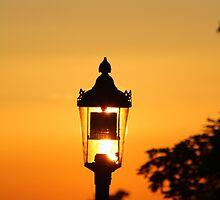 Streetlight Sunset by Jonathan Cox