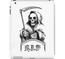 Death with a Scythe iPad Case/Skin