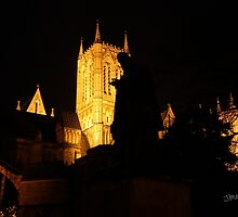 Lincoln Cathedral Tennyson Silhouette by Jonathan Cox