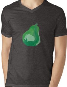 Pattern with fruit Mens V-Neck T-Shirt