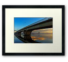 Sunrise at Raymond Terrace Framed Print