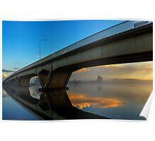 Sunrise at Raymond Terrace Poster